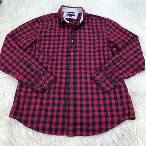 Banana Republic Plaid Button Front Shirt